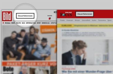Dauerfakenews Kennzeichnung - Der Gazetteur
