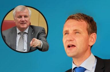 Horst Seehofer und Björn Höcke - Der Gazetteur