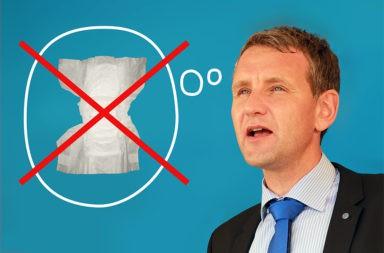 Björn Höcke Windel - Der Gazetteur