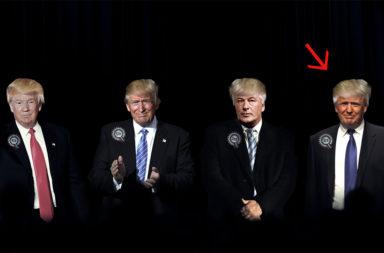 Donald Trump Doppelgänger - Der Gazetteur