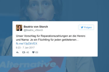 Beatrix von Storch Twitter - Der Gazetteur