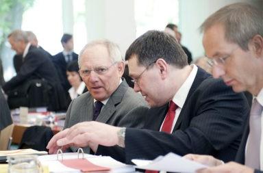 Wolfgang Schäuble Verhandlungen - Der Gazetteur