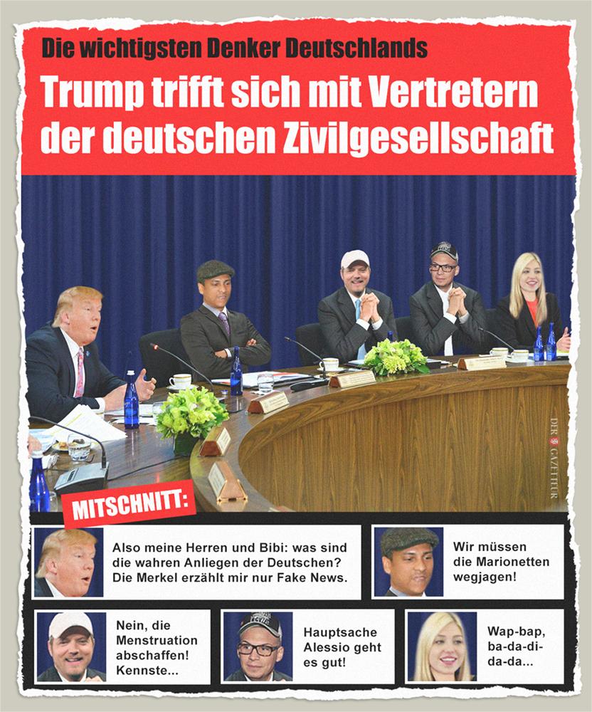 Treffen der Denker - Der Gazetteur