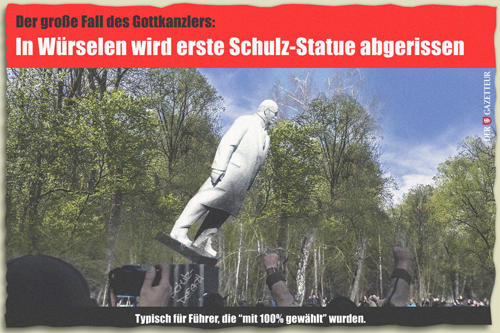 Der Fall des Schulz - Der Gazetteur