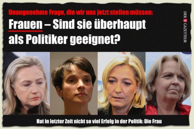 Frauen und Politik - Der Gazetteur