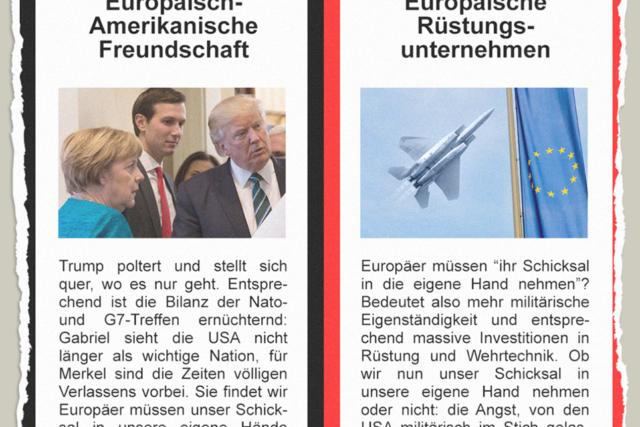 Rosige Rüstungsunternehmen - Der Gazetteur