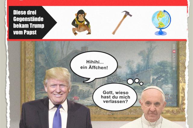 Geschenke vom Papst - Der Gazetteur