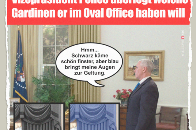 Pence und die Gardinen - Der Gazetteur