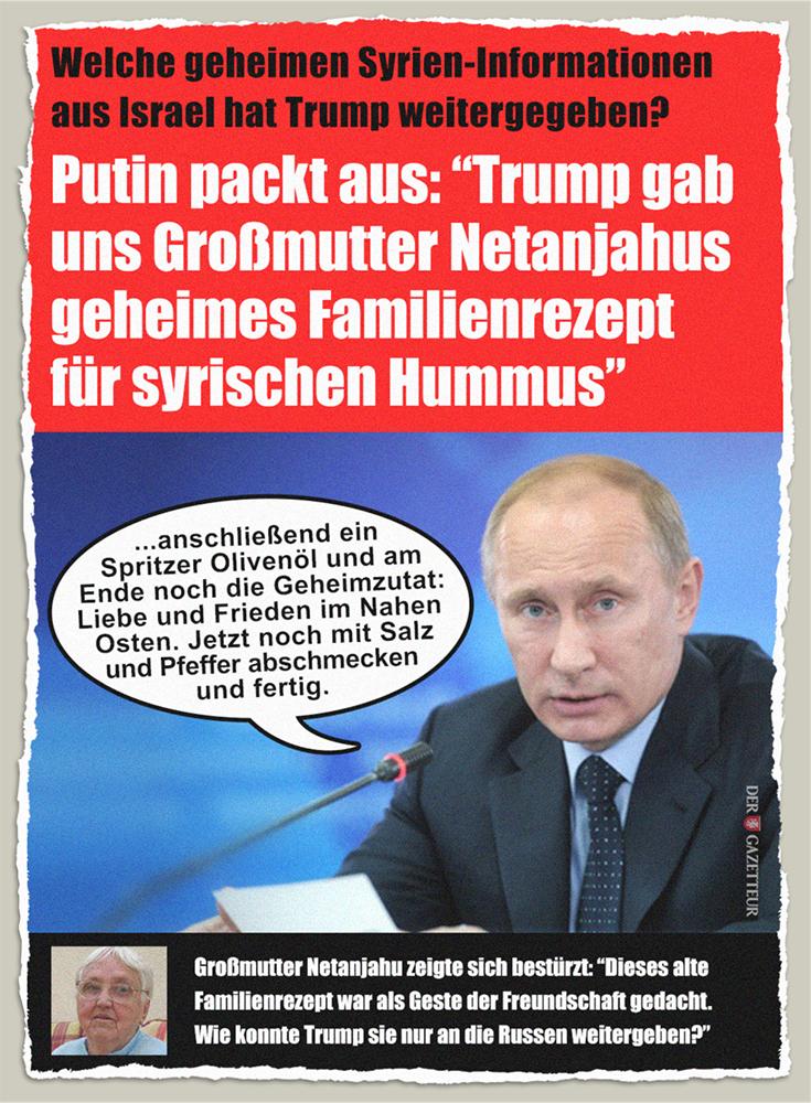 Geheimrezept für syrischen Hummus - Der Gazetteur