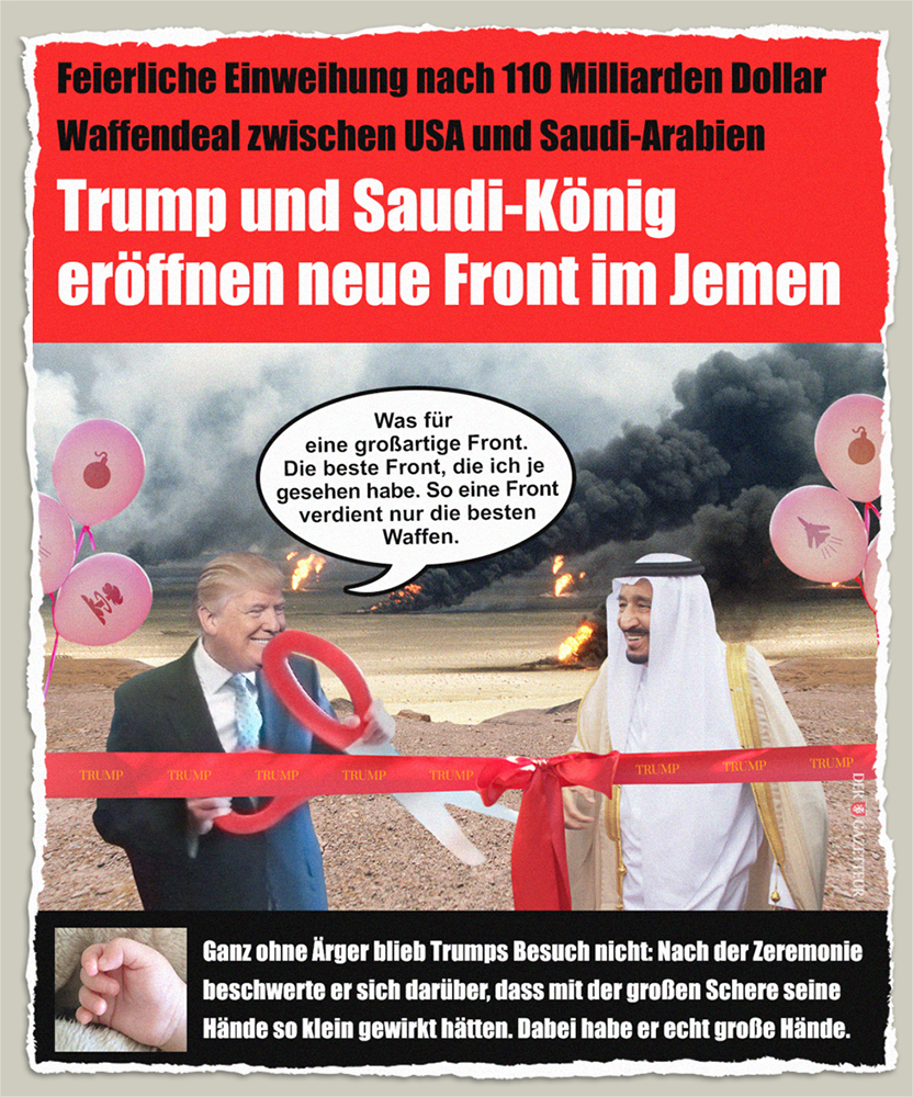 Trumps Saudi-Deal - Der Gazetteur