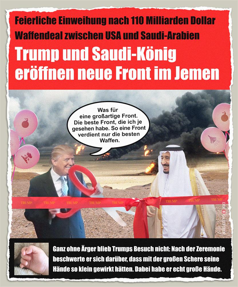 Trumps Saudi-Deal - Der Gazetteur