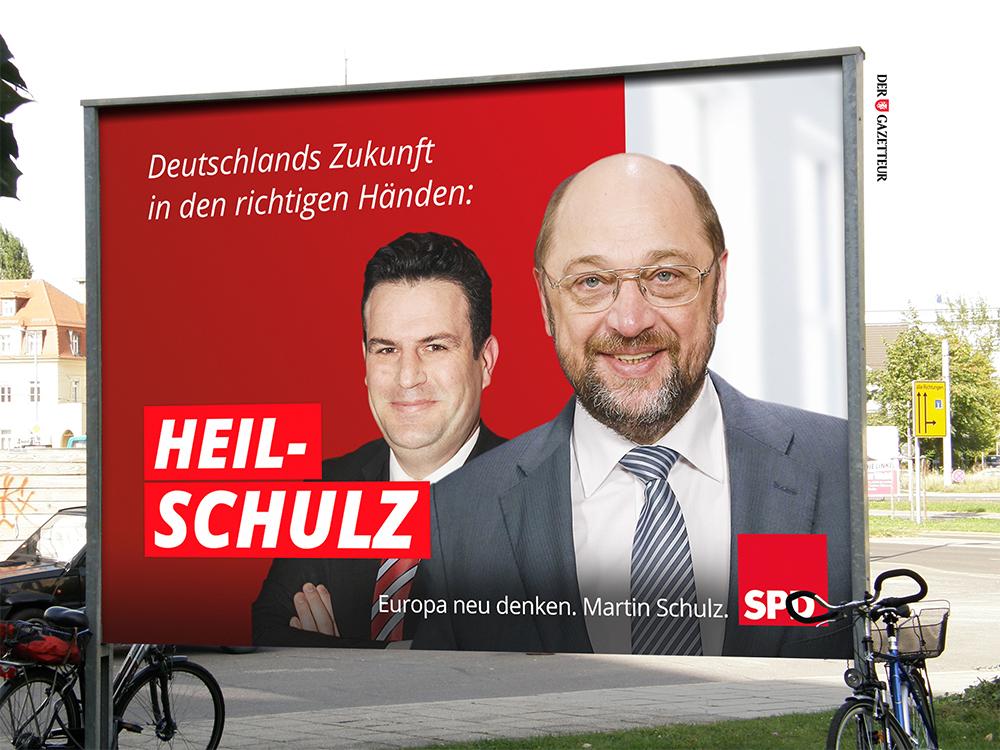SPD Wahlplakat - Der Gazetteur