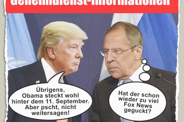 Trumps Geheimnisse - Der Gazetteur