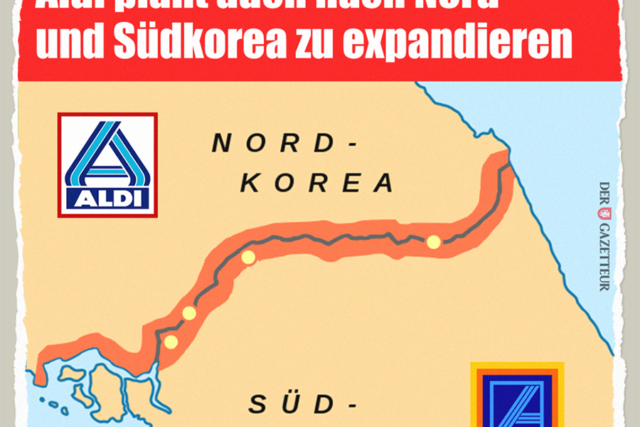 Aldi in Korea - Der Gazetteur