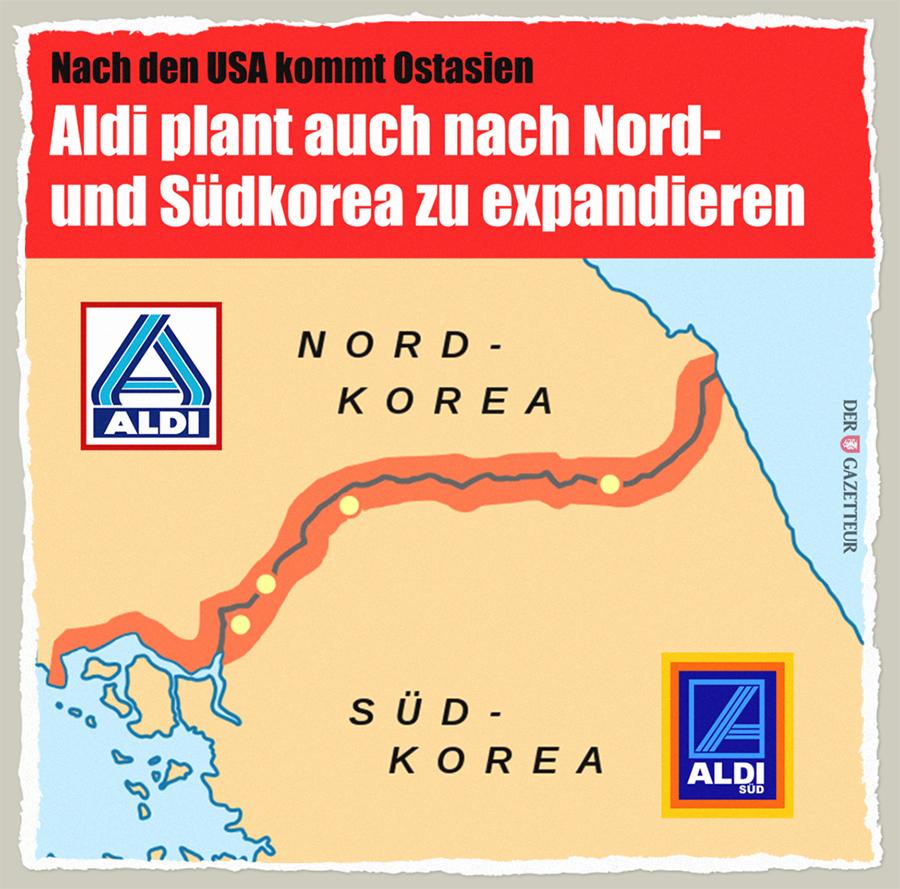 Aldi in Korea - Der Gazetteur