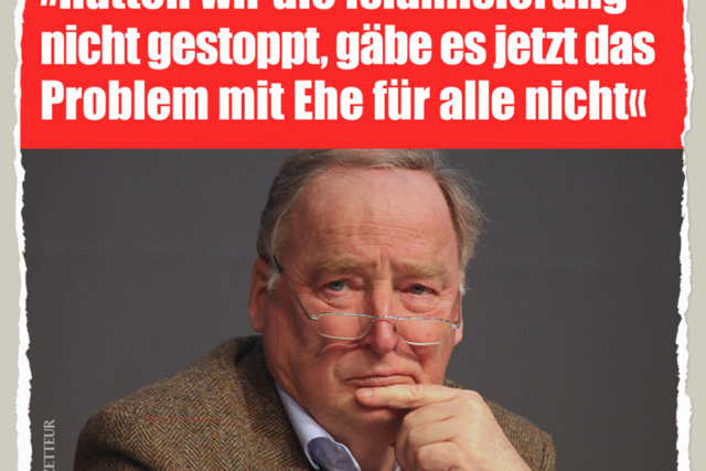 Gaulands Reue - Der Gazetteur