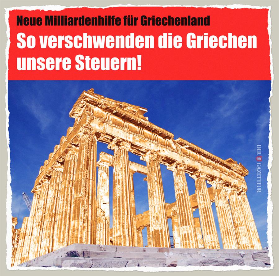 Goldene Griechen - Der Gazetteur