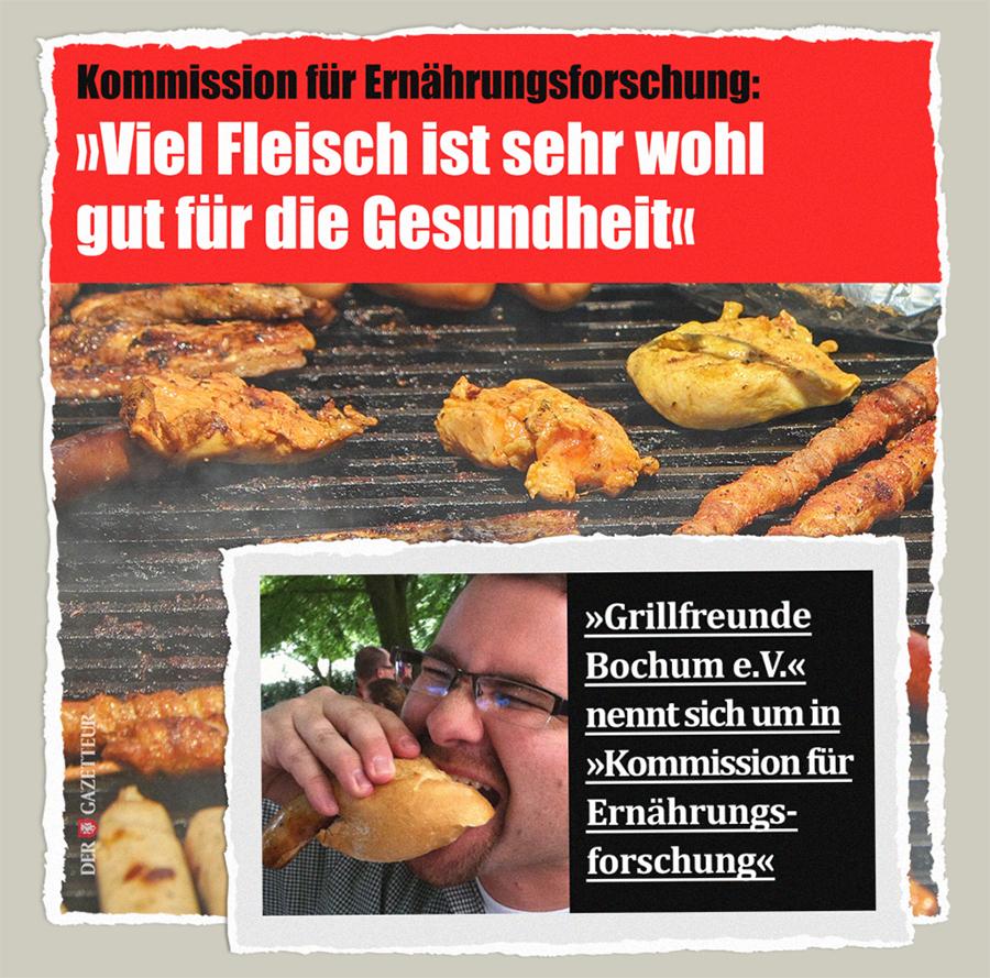 Grillfreunde Ernaehrungsforschung - Der Gazetteur