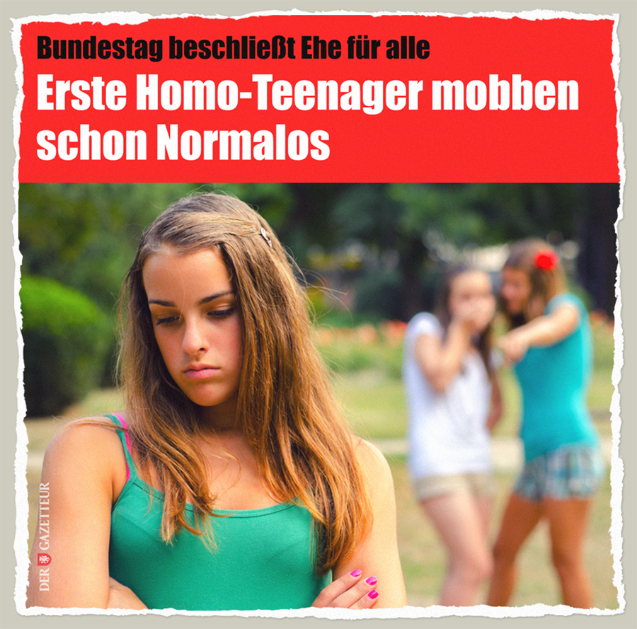 Homo-Teenager - Der Gazetteur