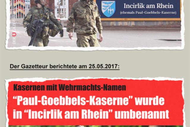 Incirlik am Rhein - Der Gazetteur
