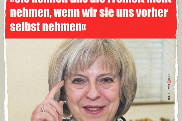 May nimmt sich die Freiheit - Der Gazetteur