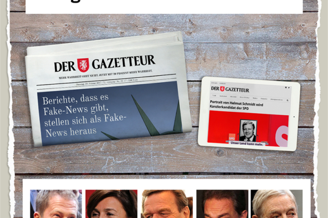 1000 Facebook-Abonnenten für den Gazetteur - Der Gazetteur