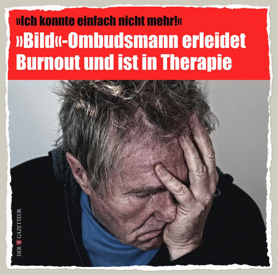 Bild eines Burnouts - Der Gazetteur