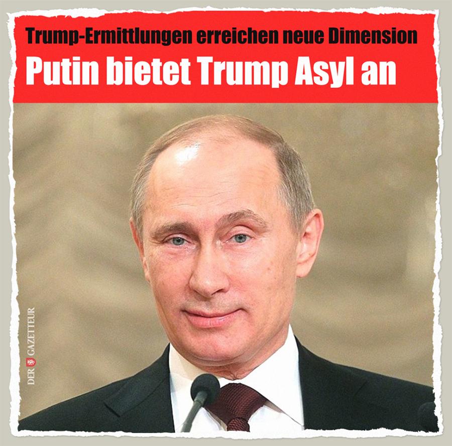 Putins Asyl - Der Gazetteur
