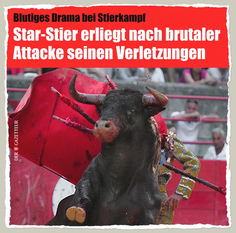 Stier Drama - Der Gazetteur