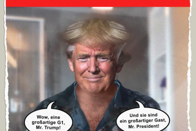 Trump beim G1-Gipfel - Der Gazetteur