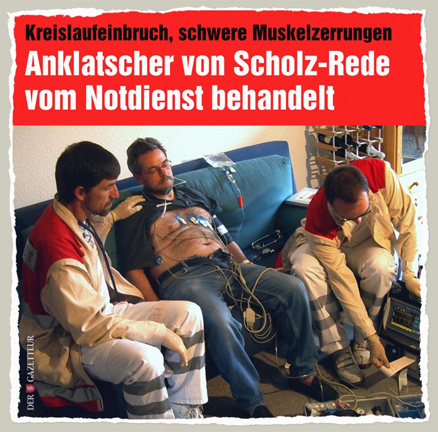 Dauerbelasteter Anklatscher - Der Gazetteur
