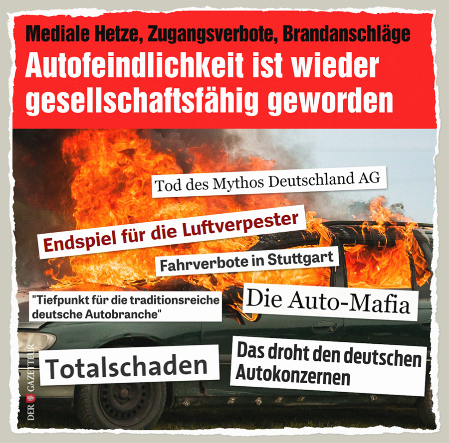 Autofeindlichkeit - Der Gazetteur