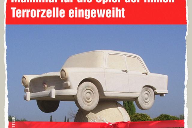 Automahnmal Hamburg - Der Gazetteur