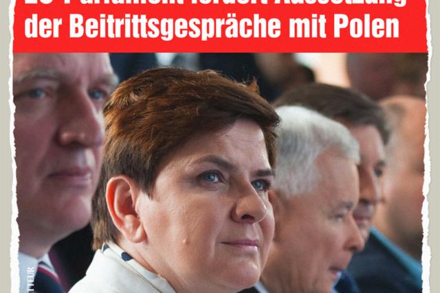 EU-Beitrittsgespräche mit Polen - Der Gazetteur