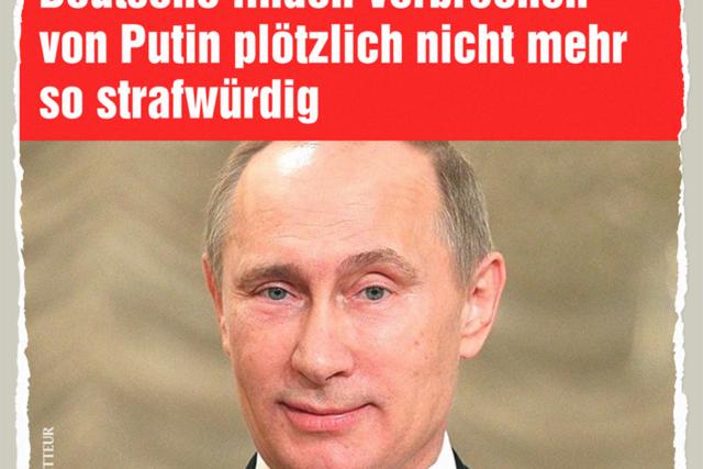 Putin und die deutsche Wirtschaft - Der Gazetteur