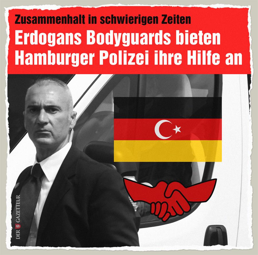 Deutsch-tuerkische Freundschaft - Der Gazetteur