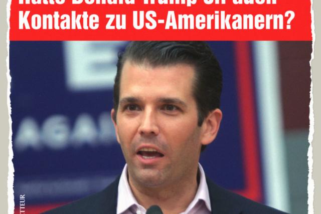 Trump Junior - Der Gazetteur