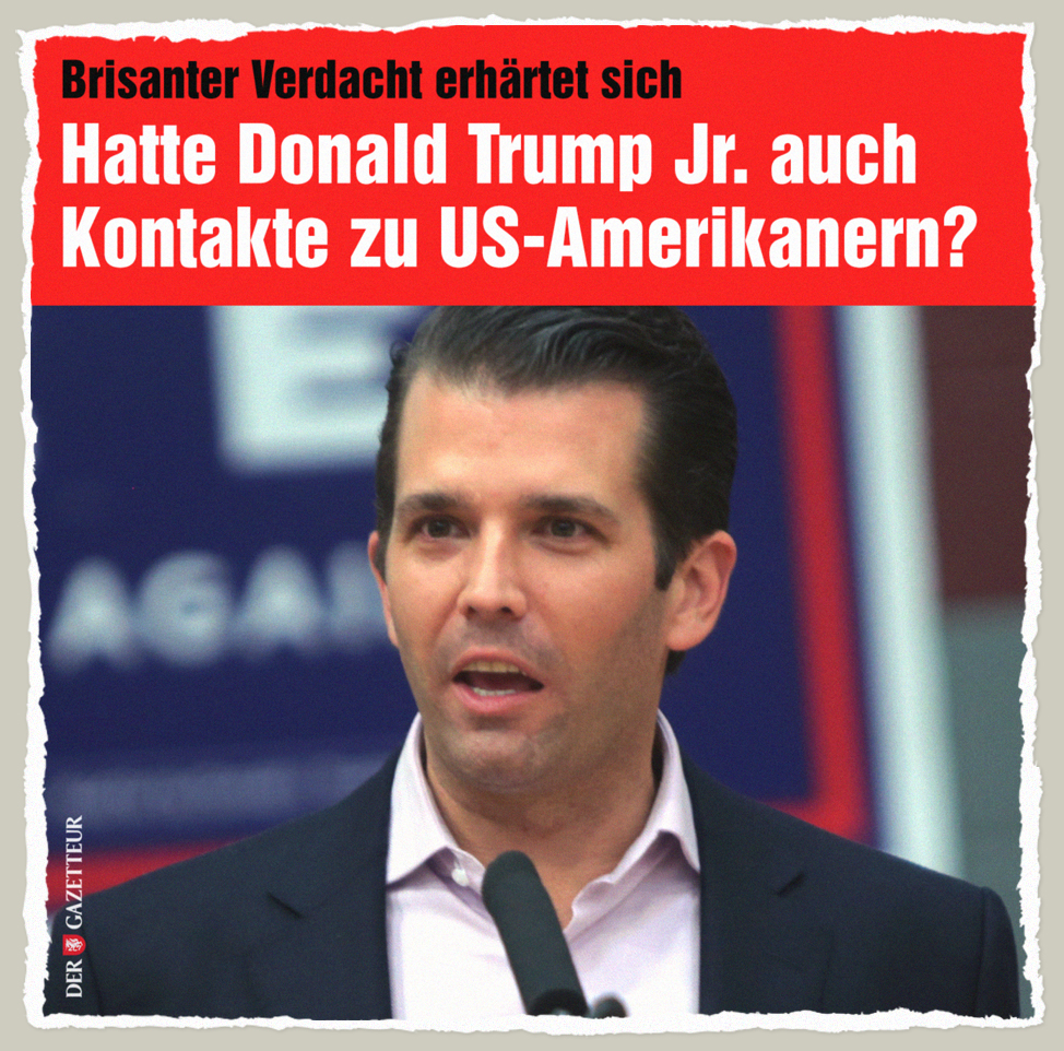 Trump Junior - Der Gazetteur