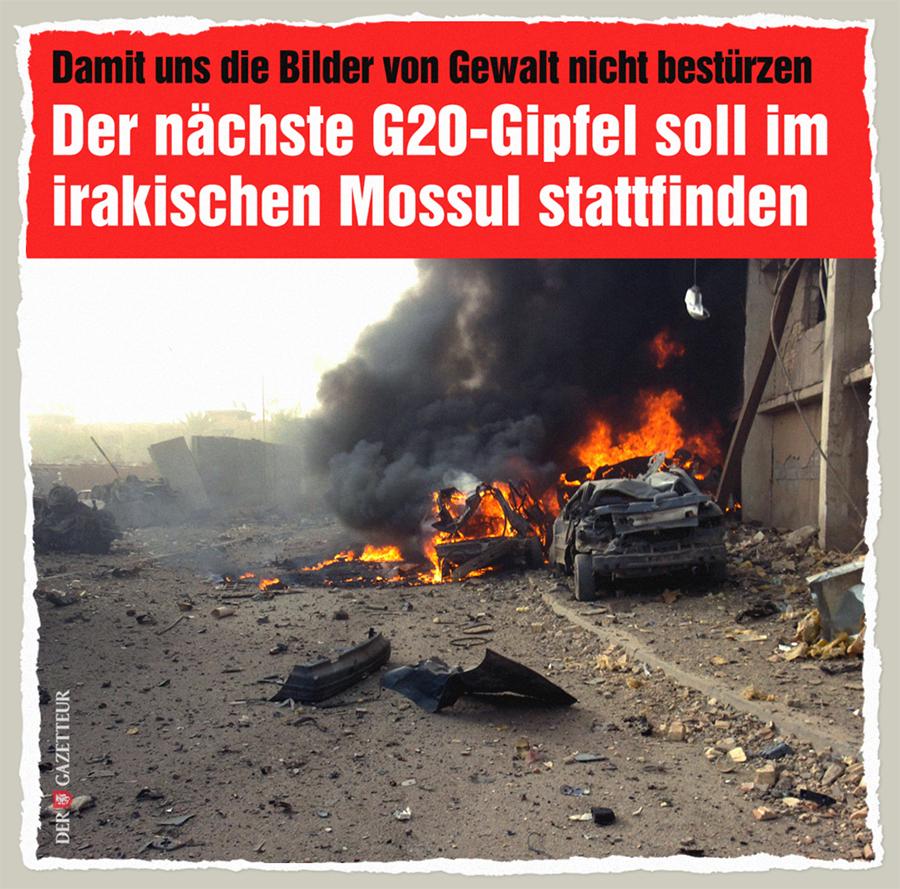 G20 in Mossul - Der Gazetteur
