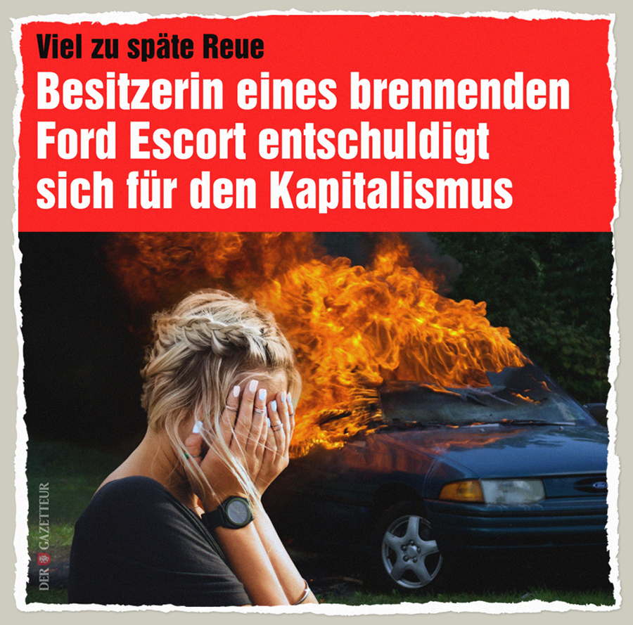 Spaete Kapitalismus-Reue - Der Gazetteur