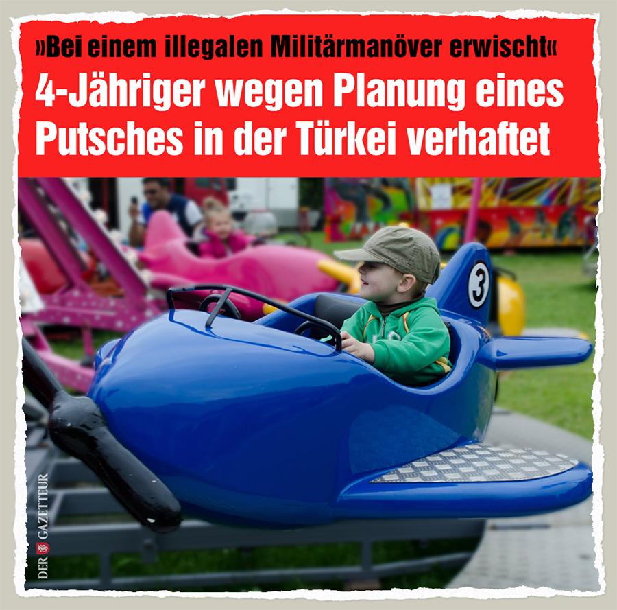 4-Jaehriger Putschversuch - Der Gazetteur
