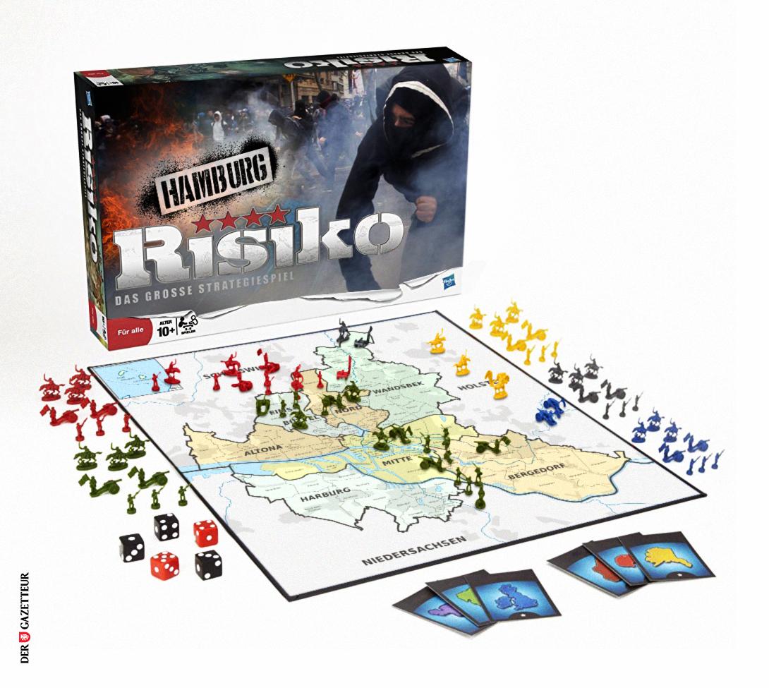 Risiko Hamburg-Edition - Der Gazetteur