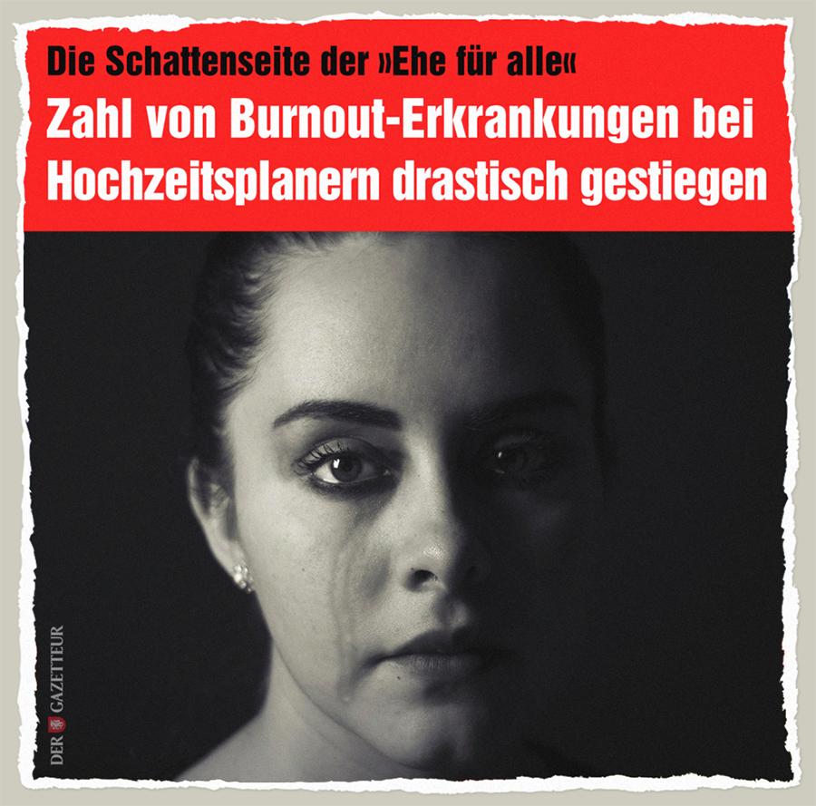 Schattenseite der Homo-Ehe - Der Gazetteur