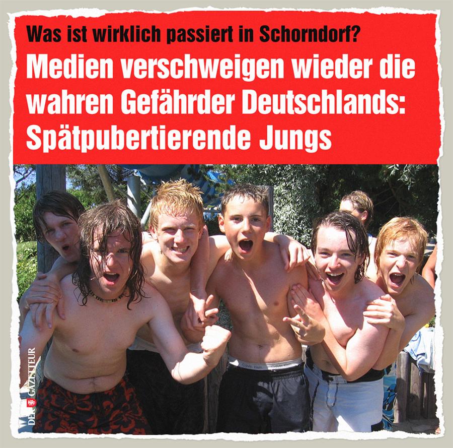 Wahre Gefaehrder Deutschlands - Der Gazetteur