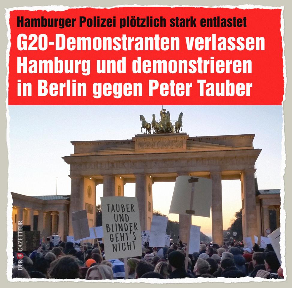 Danke, Tauber - Der Gazetteur