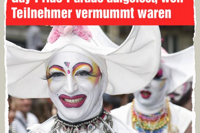 Vermummte Parade - Der Gazetteur