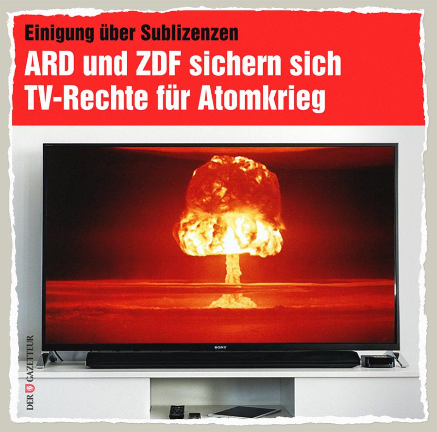 Atomkrieg-Rechte - Der Gazetteur
