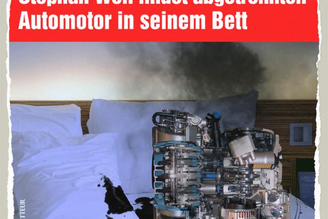 Auto Motor Bett - Der Gazetteur