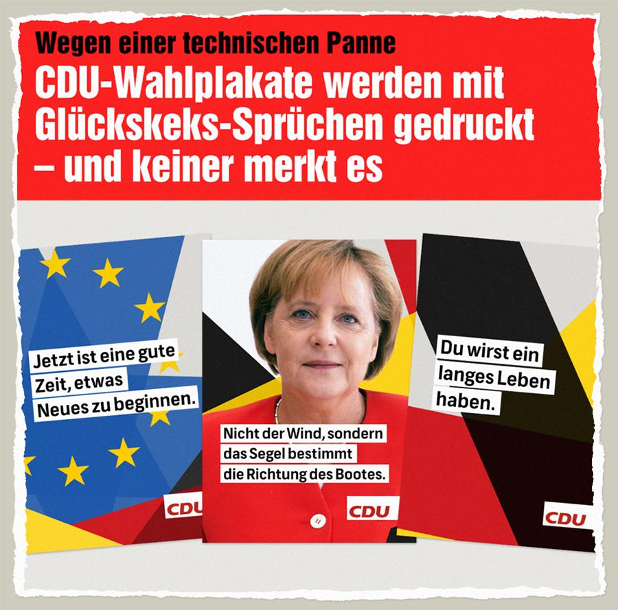 CDU-Kekse - Der Gazetteur