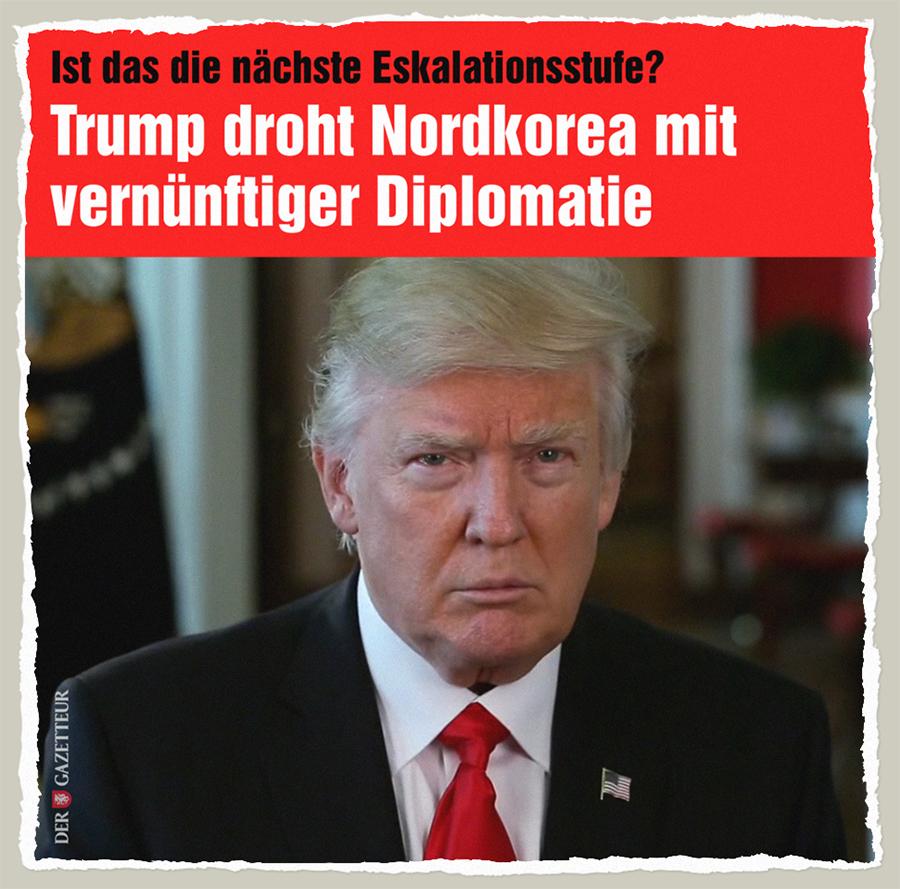 Diplomatiedrohung - Der Gazetteur